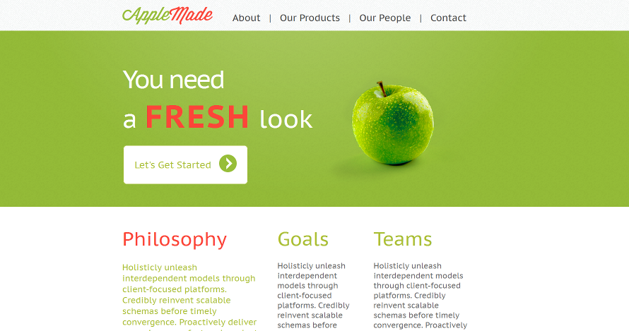 Powered by google sites best google sites examples the fresh site by sitestemplate maxwellsz